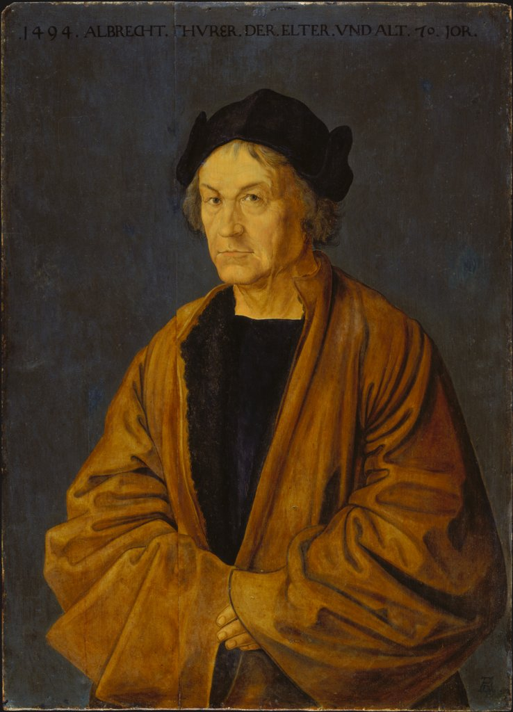 Portrait of the Artist's Father Albrecht Dürer the Elder, copy after Albrecht Dürer