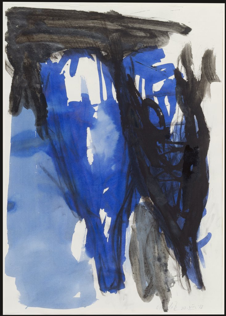 Untitled, Georg Baselitz