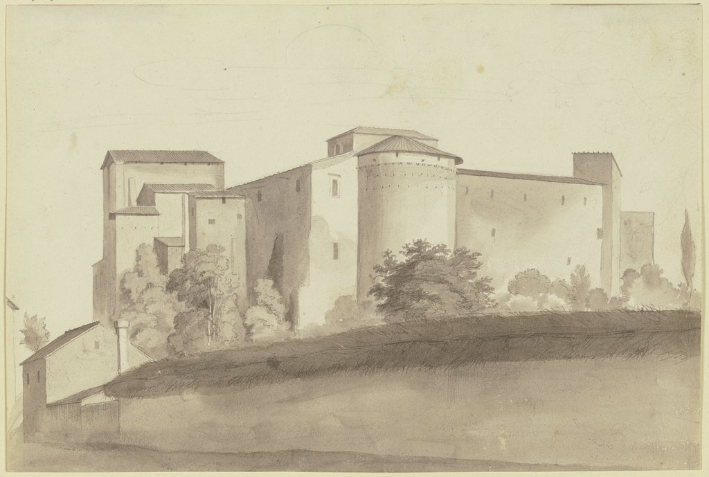 Building complex in Rome, Friedrich Olivier