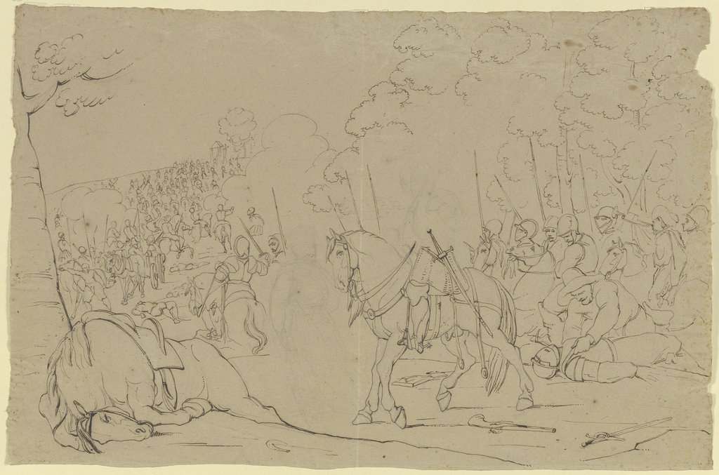 Battle procession, Franz Pforr