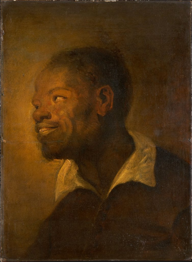 Head of a Black African, Anthony van Dyck  Nachfolge