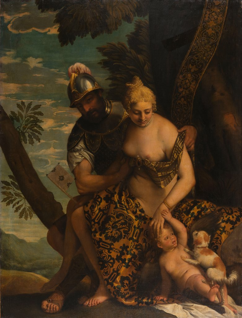 Mars and Venus, Paolo Veronese  workshop