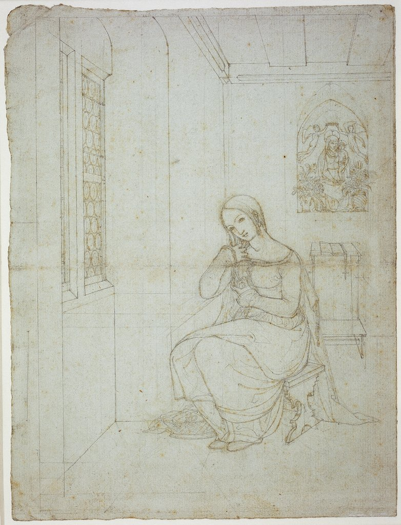 Mary in the chamber (II), Franz Pforr