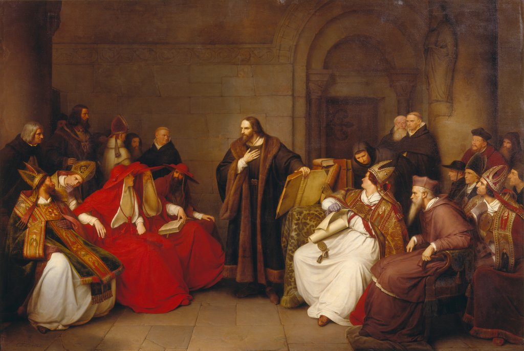 Jan Hus at Constance, Carl Friedrich Lessing