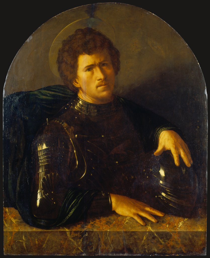 Saint George?, copy after Dosso Dossi