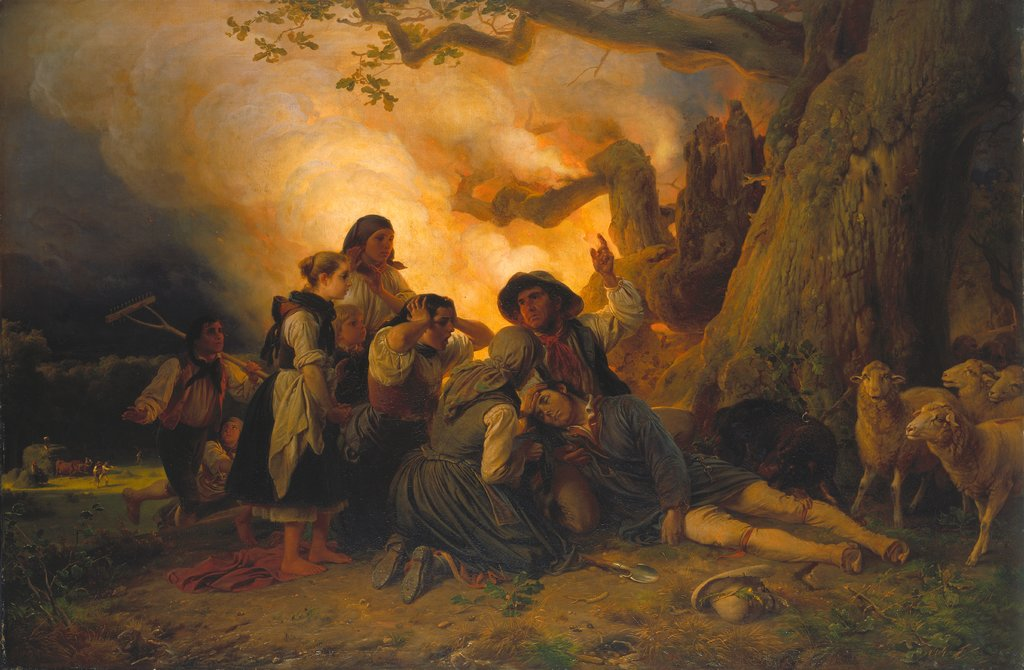 Shepherd Struck by Lightning, Jakob Becker