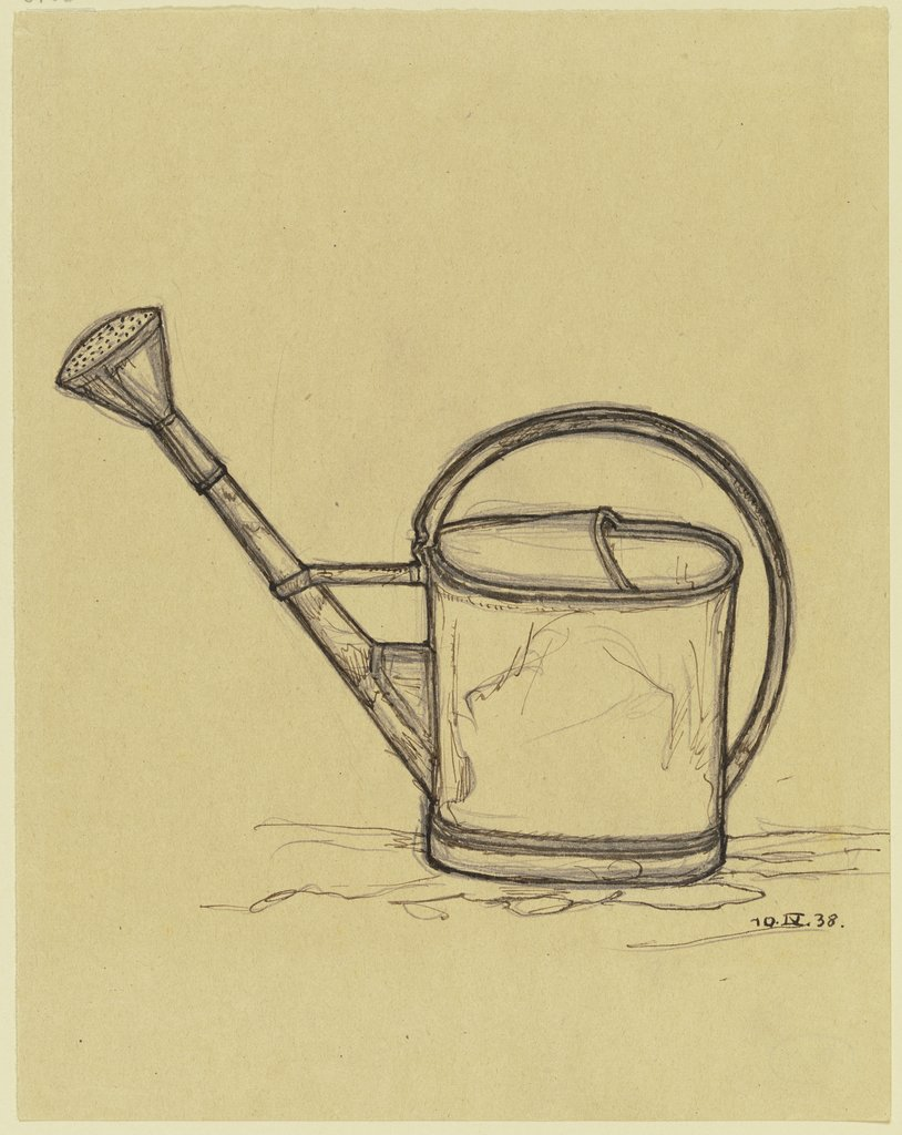 Watering can, Marcus Behmer
