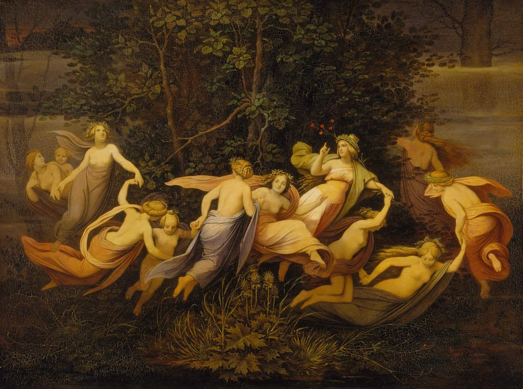 Fairy Dance in the Alder Grove, Moritz von Schwind