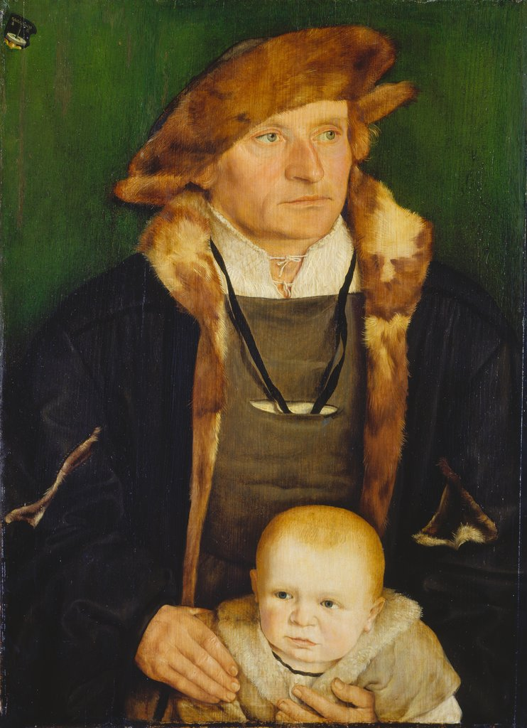 Portrait of Hans Urmiller and his Son, Barthel Beham