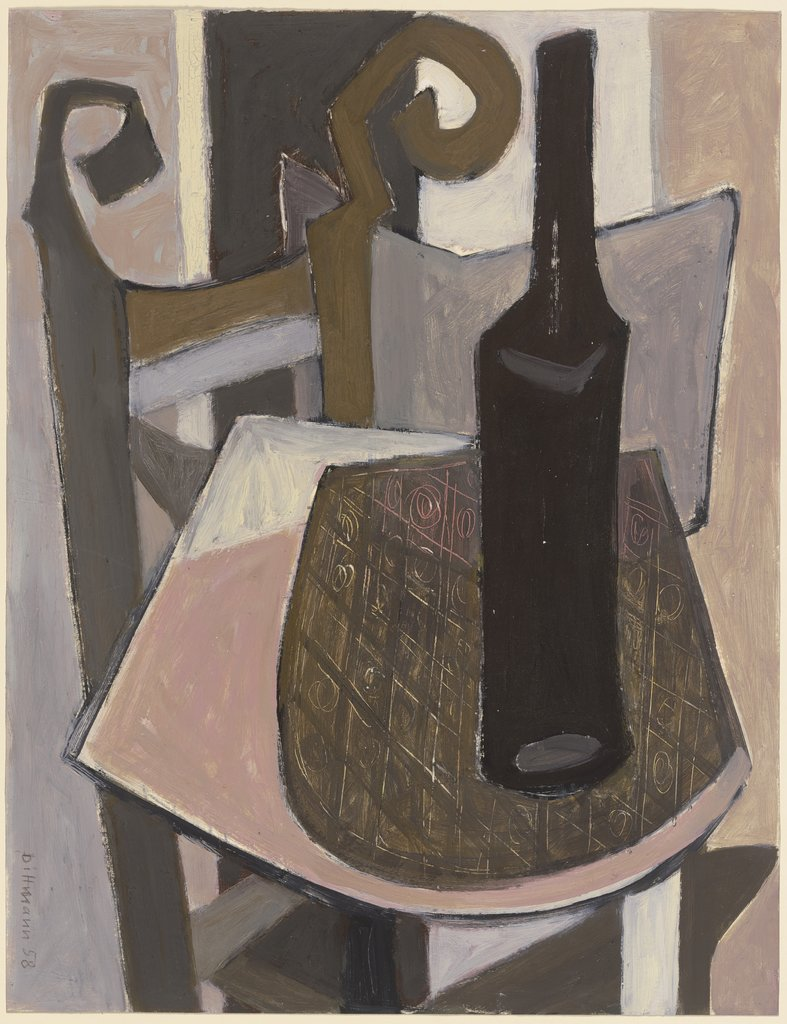 Still life on chair, Ursula Dittmann