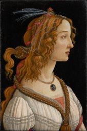 Portrait von Botticelli