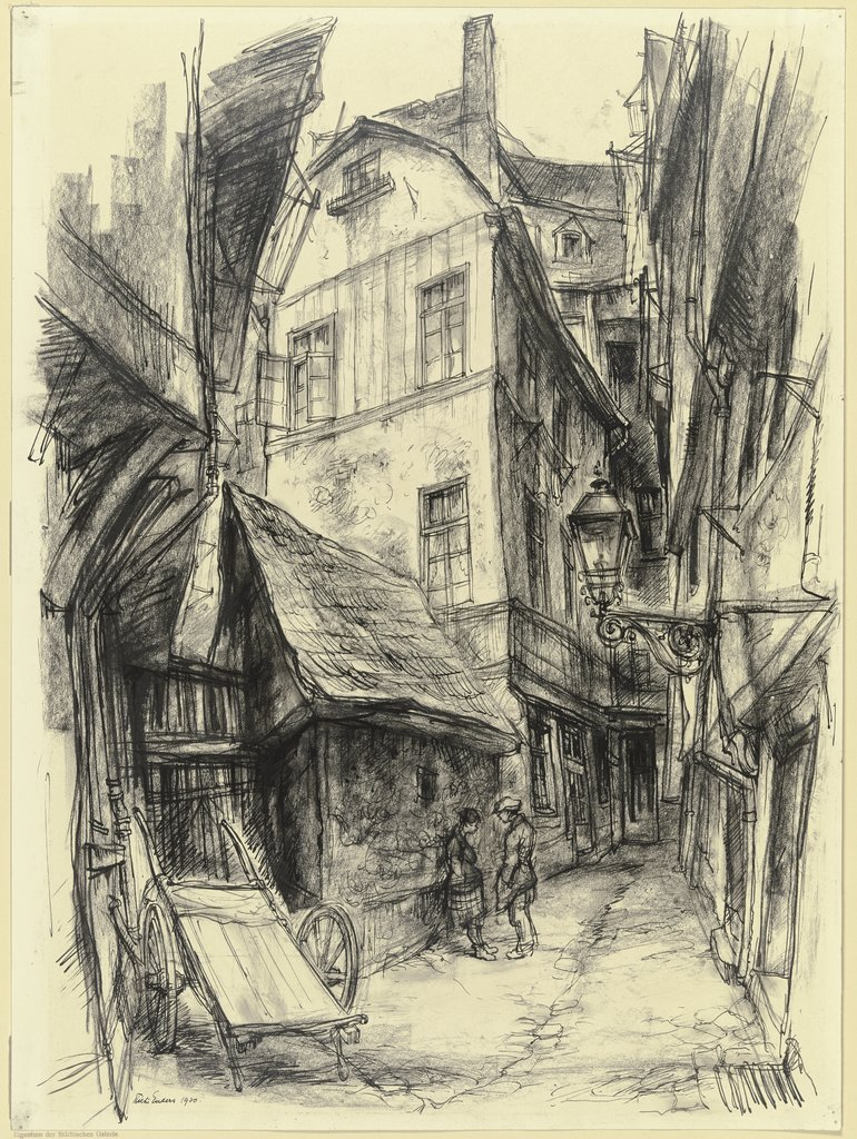 Die Goldhutgasse in Frankfurt am Main, Richard Enders