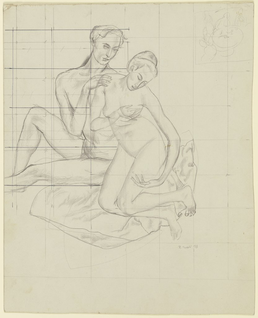 Pair of lovers, Reinhold Ewald