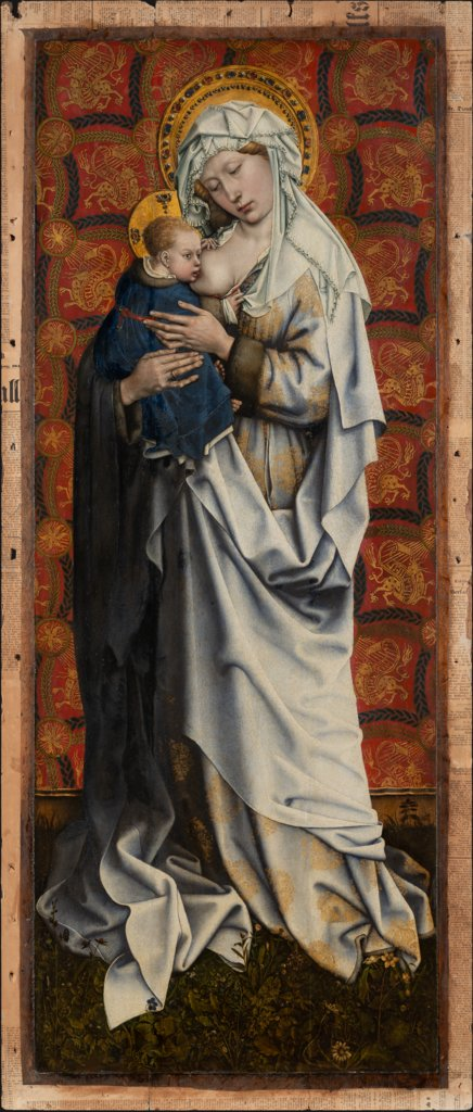 Madonna and Child, Master of Flémalle, Robert Campin  Werkstatt