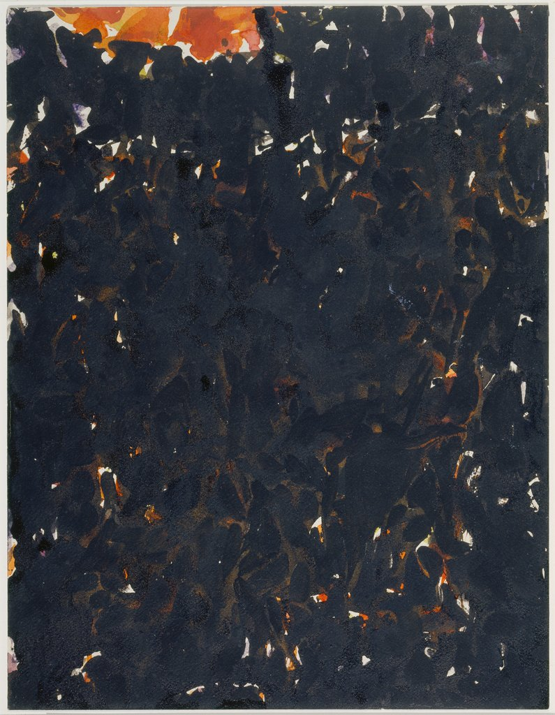 Red spot, Sam Francis