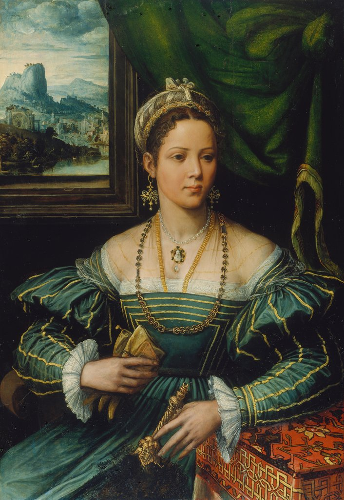 Portrait of a Lady, Pieter de Kempeneer