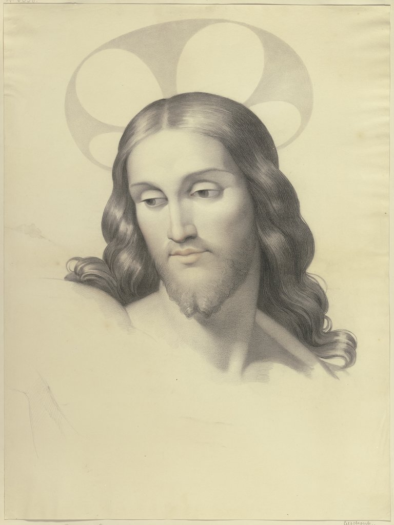 Christ's head, Filippo Agricola
