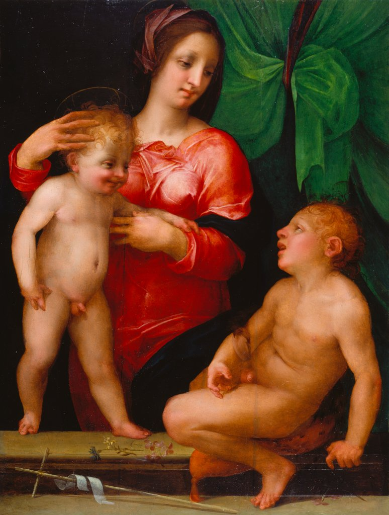 Madonna and Child with the Infant St. John, Rosso Fiorentino