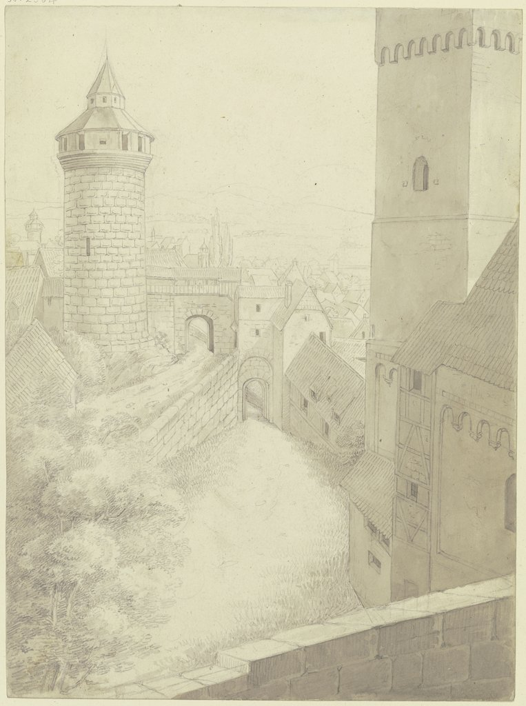 At the castle of Nuremberg, Karl Ballenberger