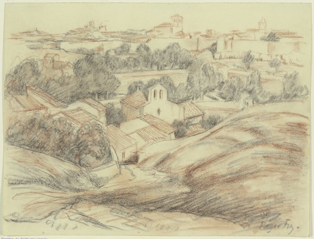 Zamora from the west, Roger Eliot Fry