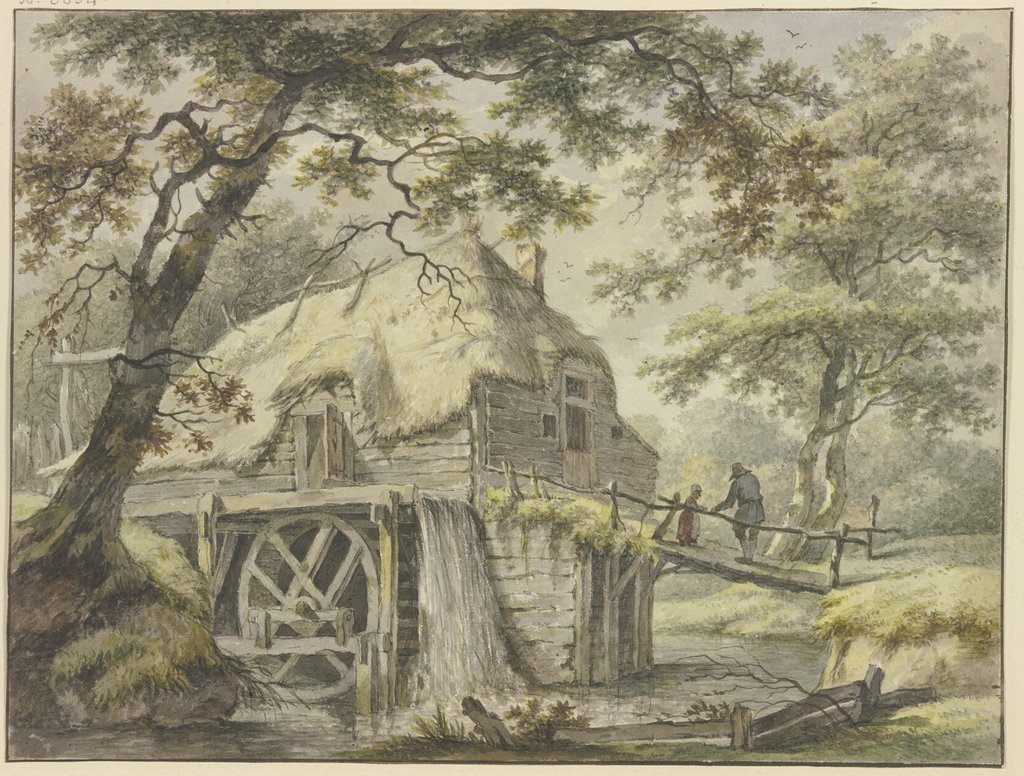Mill in the forest, Pieter Pietersz. Barbiers
