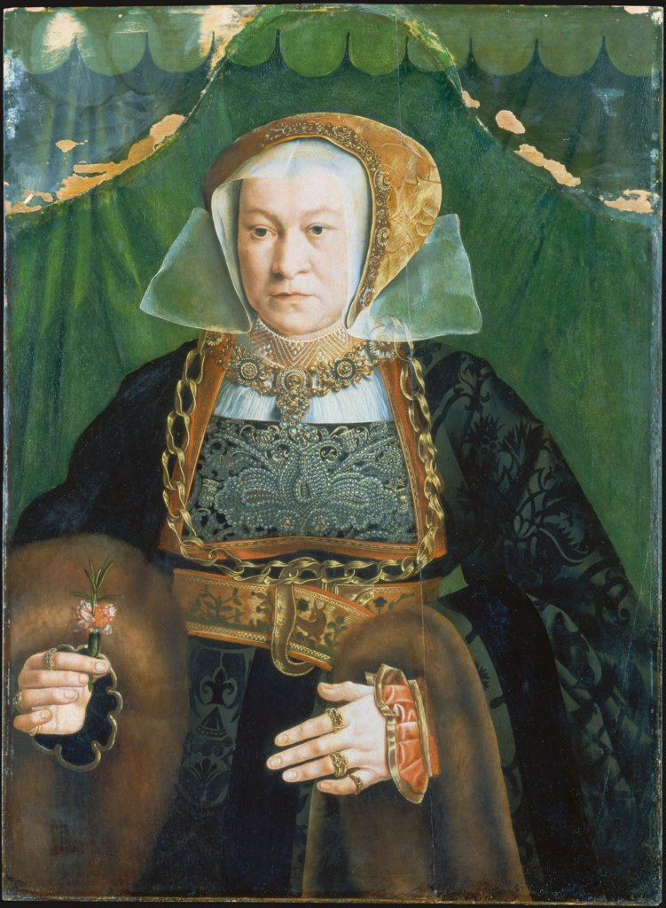 Portrait of Sibylla Kessel, Bartholomäus Bruyn the Elder