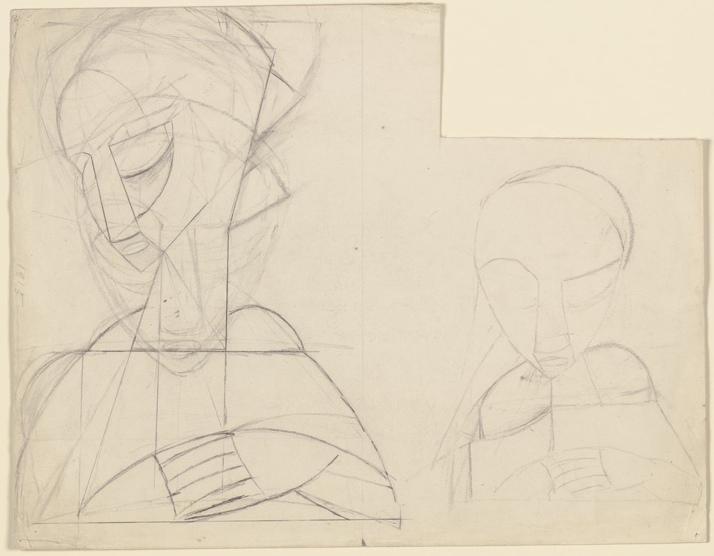 Constructed Head No. 2, Naum Gabo