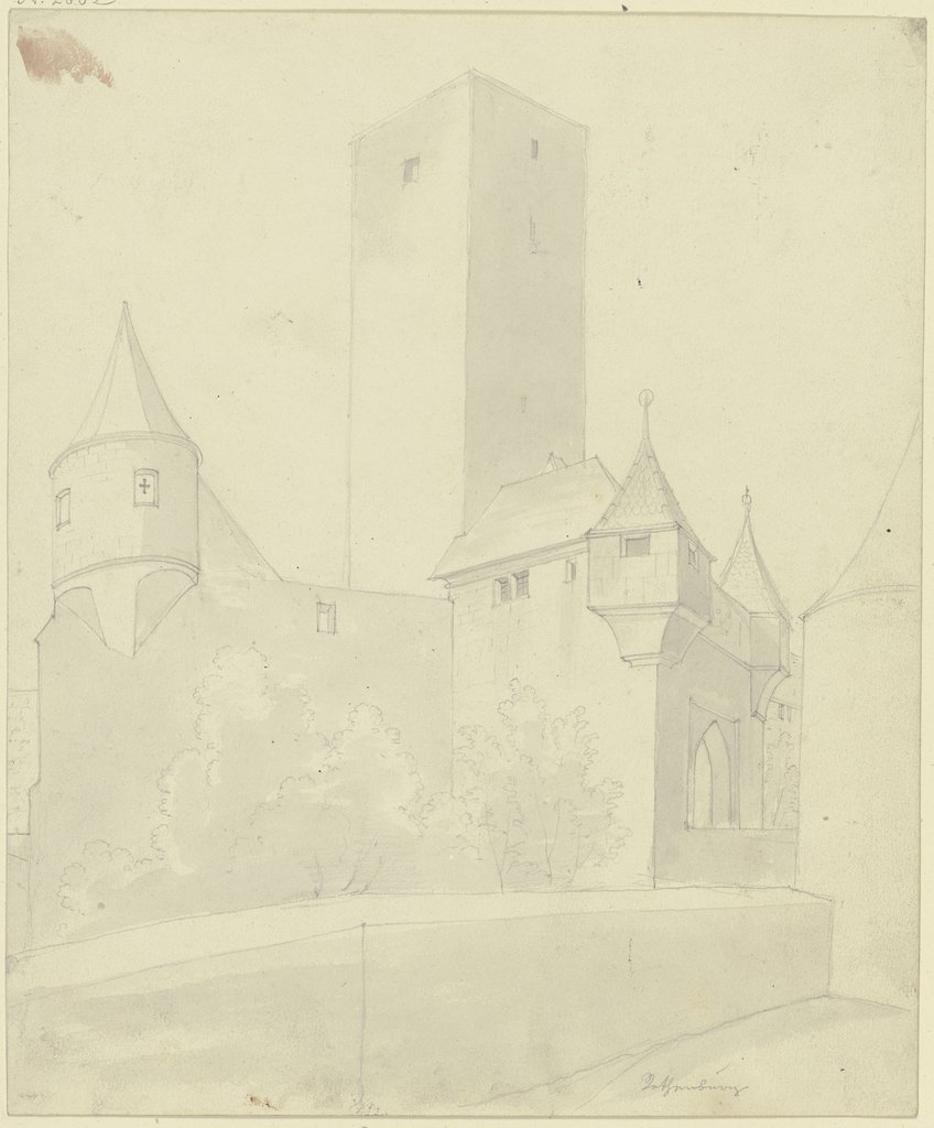 Bergfried der Burg Rothenburg ob der Tauber, Karl Ballenberger