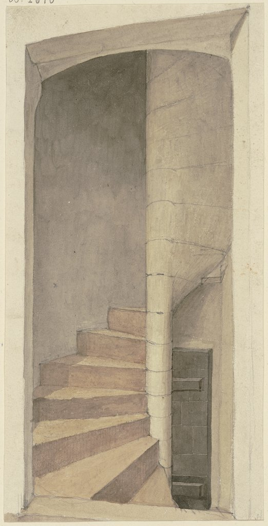 Newel stairs, Karl Ballenberger