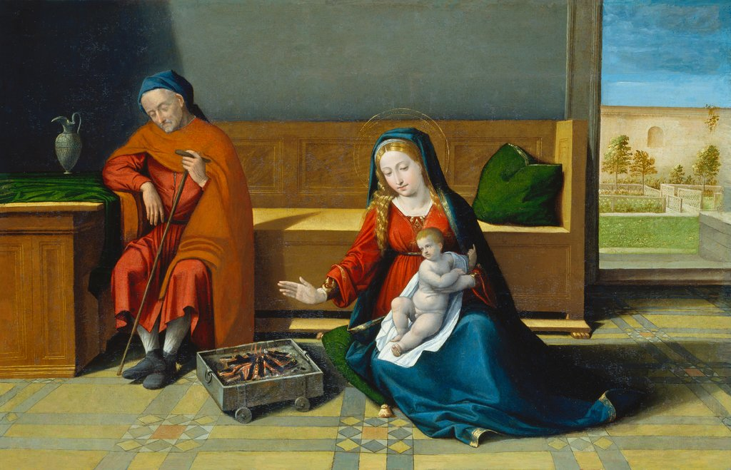 The Holy Family, Garofalo