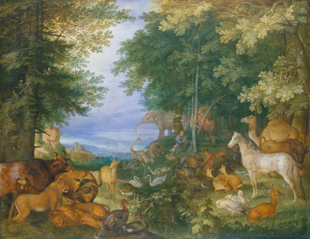 Orpheus Charming the Animals with His Music, Roelant Savery