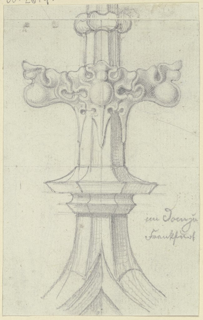 Finial, Karl Ballenberger