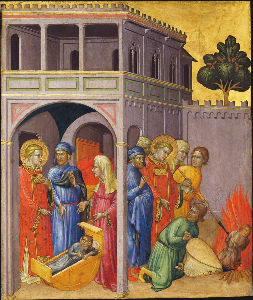 Return of the Saint and Burning of the Changeling, Martino di Bartolomeo