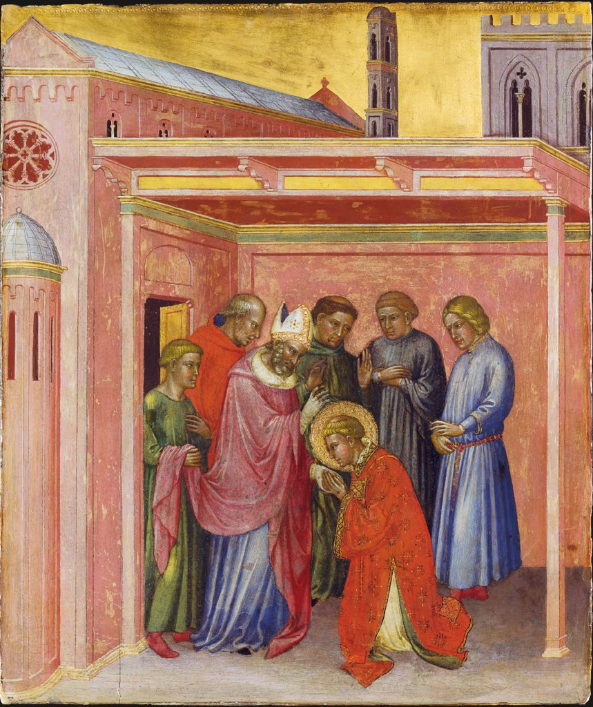 Departure from Bishop Julian, Martino di Bartolomeo