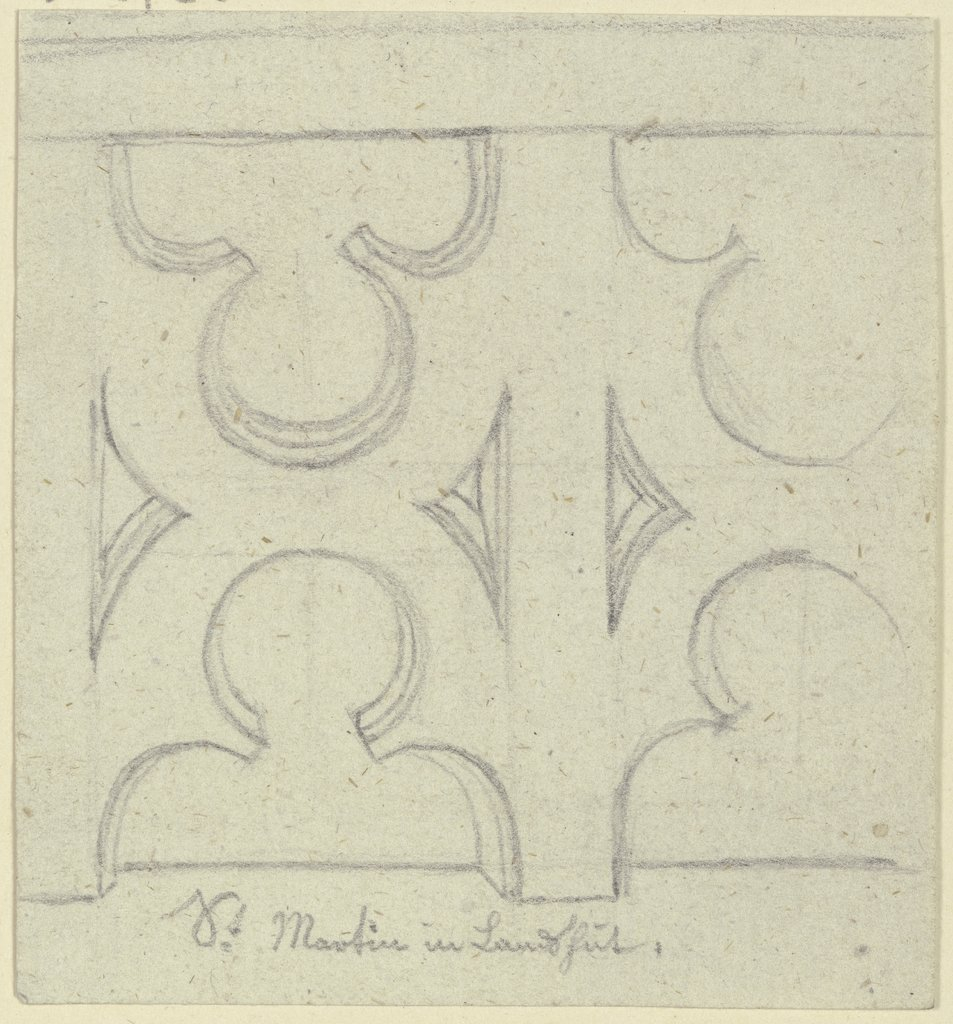 Section of a parapet (?), Karl Ballenberger