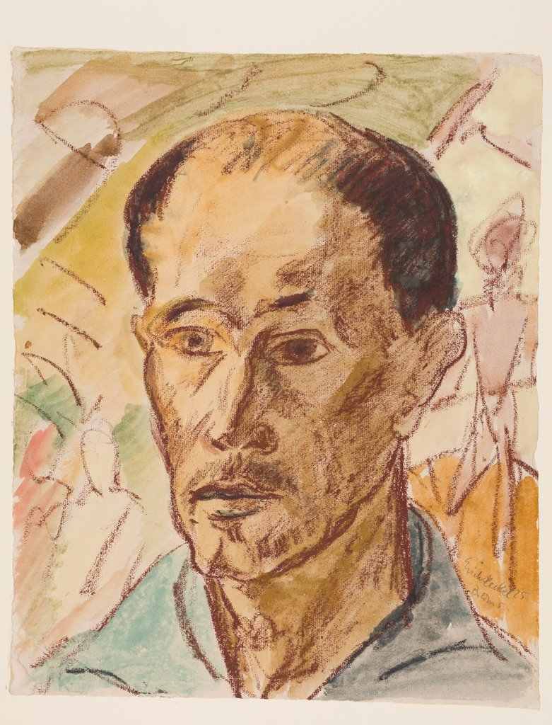 Self-portrait, Erich Heckel