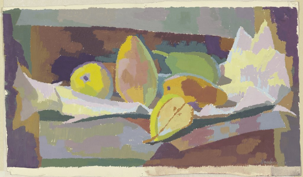 Still life with pears, Maria Houben