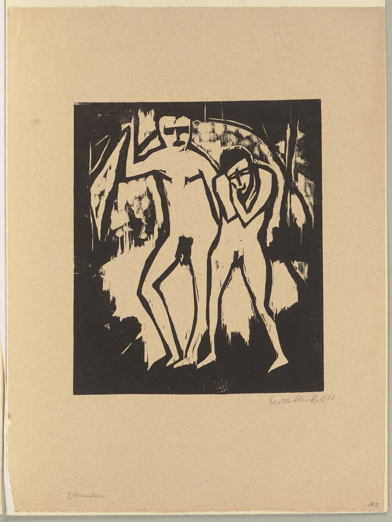 Two People, Erich Heckel