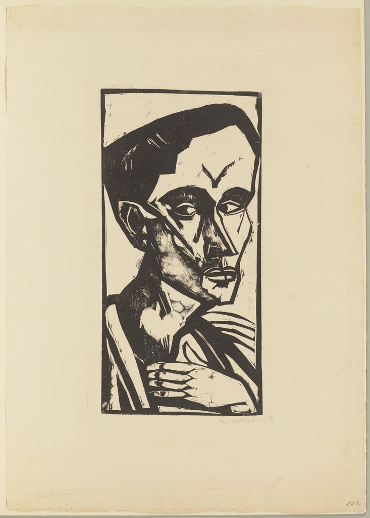 The Man, Erich Heckel