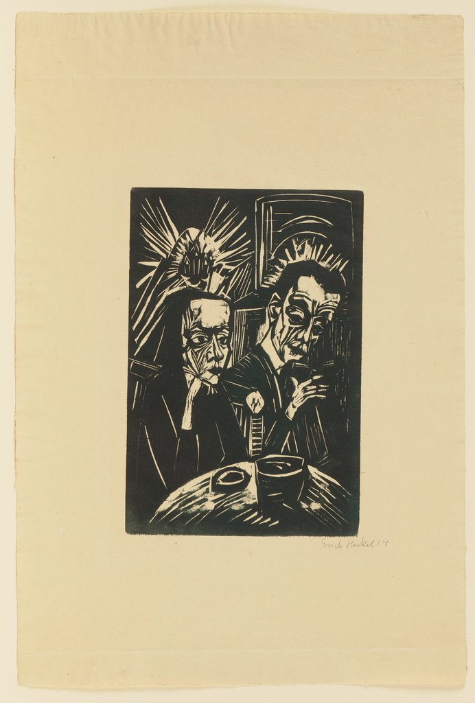 Reading Aloud, Erich Heckel