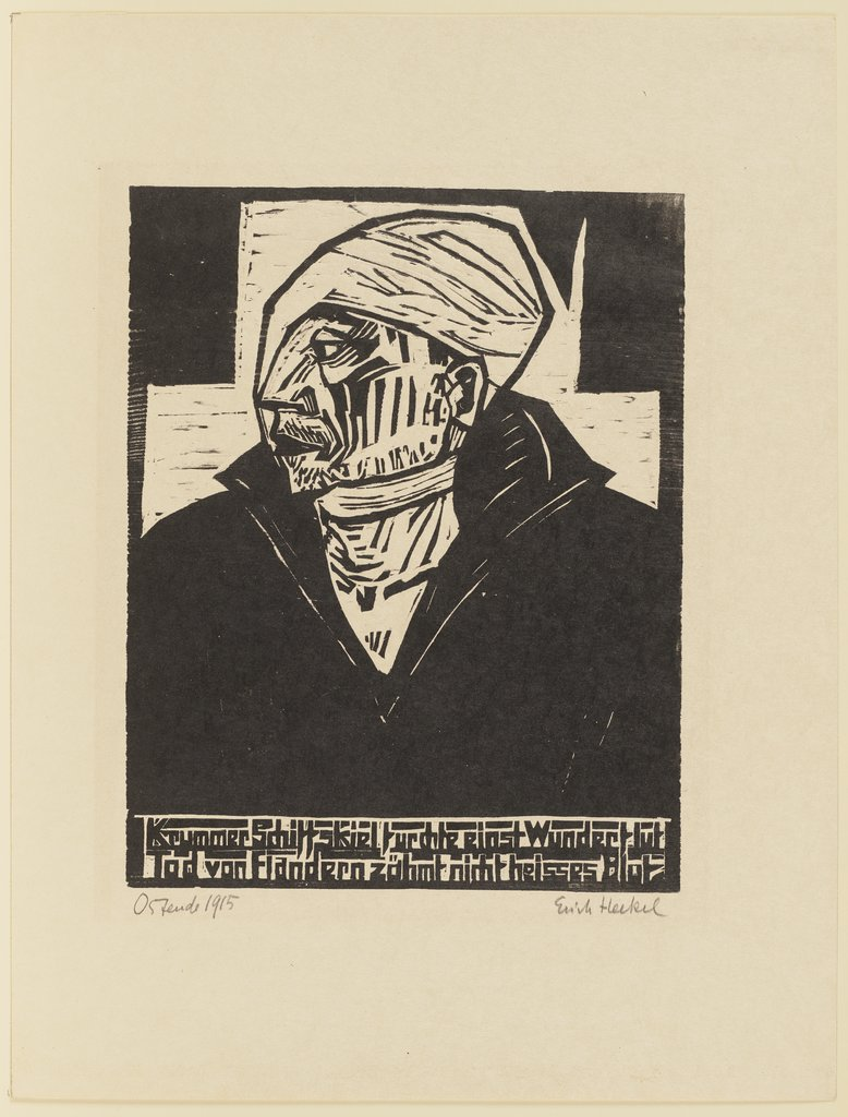 Wounded Sailor, Erich Heckel