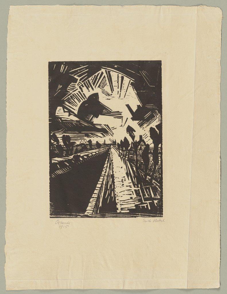 Straight Canal, Erich Heckel