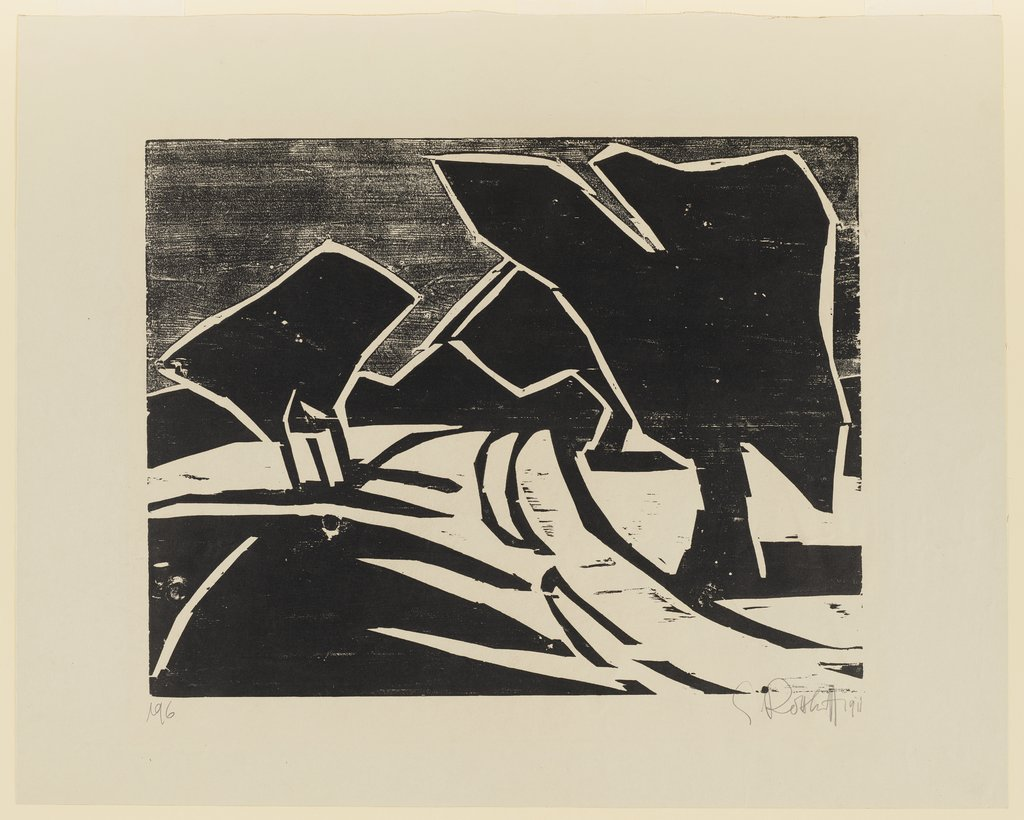 Path with Trees, Karl Schmidt-Rottluff