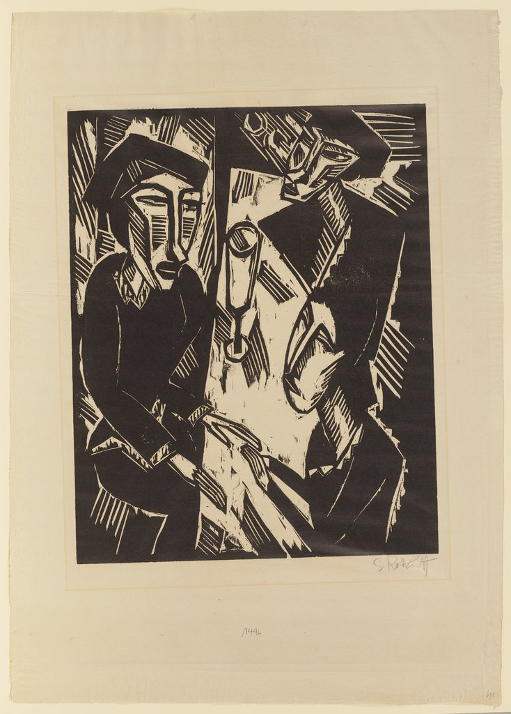 Three at the Table, Karl Schmidt-Rottluff